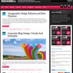 シンプルなブログデザインテンプレート