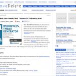 10個の無料wordpressデザインサイト