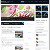 広告ブログ用デザインテンプレート2011