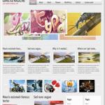 2011年ユニークなブログ用テンプレート