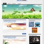 ブログ用のシンプルなメニューデザイン