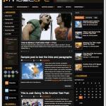 シャープなブラック3コラムのブログ