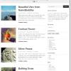 飾らずシンプルに魅せるブログテーマ