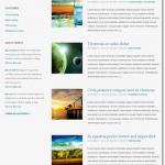テキスト中心のブログ向けギャラリー付きテーマ
