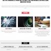 商品やプロジェクトのスライドを紹介するテーマ
