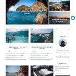 旅や日常を写真らと綴るデザイン