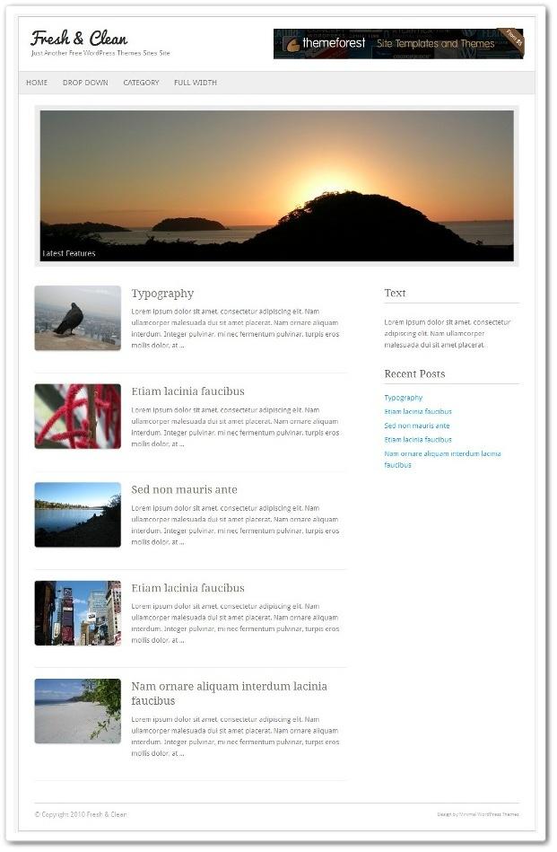 柔らかいホームページ・ブログ兼用テーマ